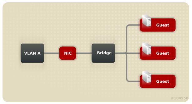 基于VLAN的网桥与网卡配置